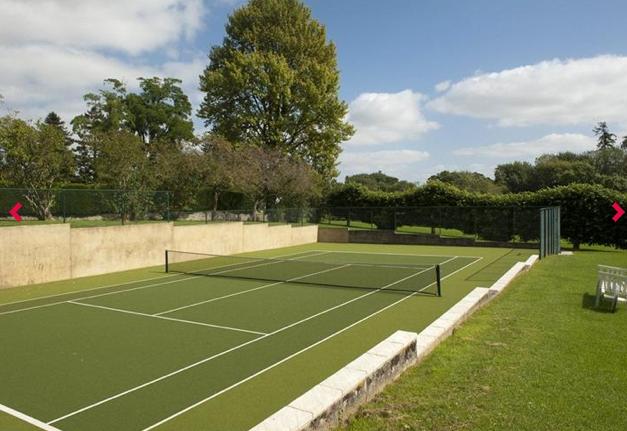Kingston Lisle House_Tennis court_construction_building_Oxfordshire_3