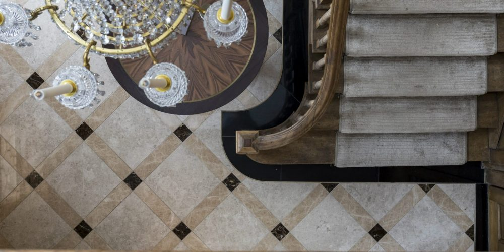 Imperial-Restoration and Construction-New-Build-Fire Damage-Restoration-Historic-Grade-I-II-Listed Building-staircase